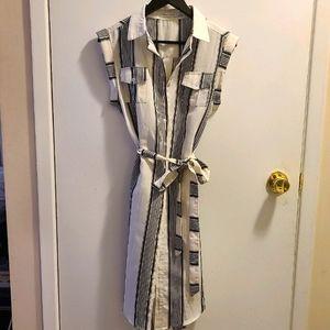 Bishop + Young striped tunic / dress